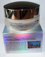 Крем для лица Морской коллаген Deoproce Marine Collagen Mineral Cream, Алматы