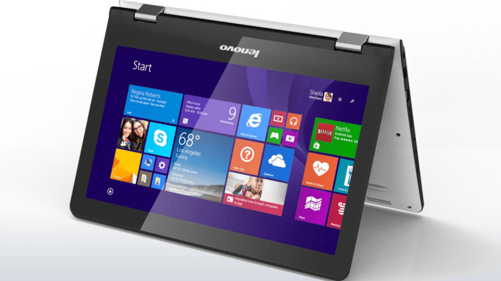 Ultrabook Lenovo YOGA 300 11.6 HD Touch (1366x768)/Intel® Celeron® N3060 DC 1.6GHz/2GB/500GB/Intel® HD Graphic