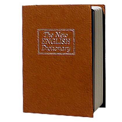 Металлическая книга-тайник с ключевым замком LD-802 В1