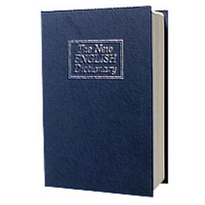 Металлическая книга-тайник с ключевым замком LD-803 В1