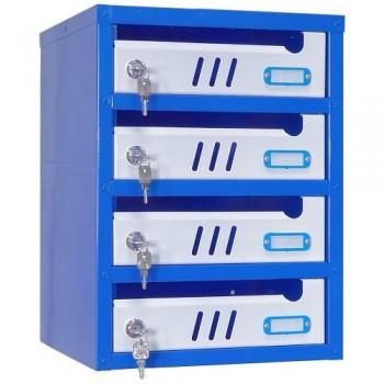 Ящик почтовый секционный ЯПС-3(4 секции)