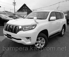 Комплект штатного рестайлинга в 2018 год (пластик) для Toyota Land Cruiser Prado 150