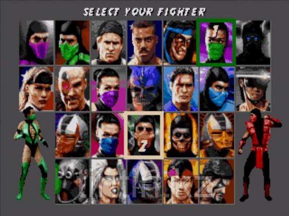 Ultimate Mortal Kombat 3 для Sega Mega Drive 2, фото 2