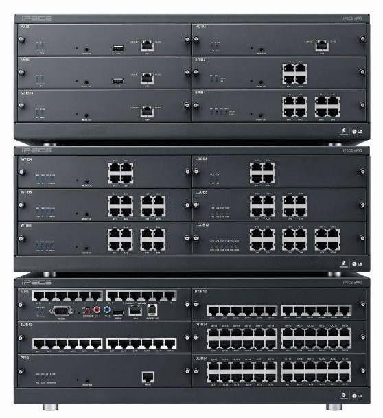 IP АТС для среднего и большого бизнеса eMG800