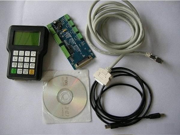 Компоненты системы DSP RZNC-0501 в неподключенном виде.