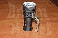 Фонарь ручной металлический светодиодный, фото 1