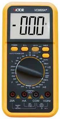 Цифровой мультиметр VICTOR VC9805A