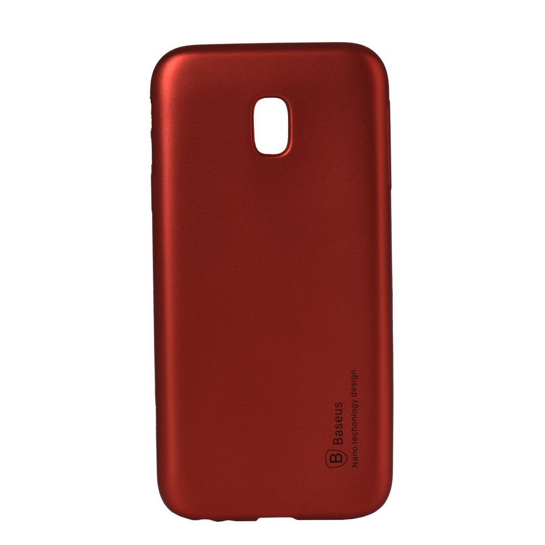 Чехол для Samsung Galaxy J3 (2017) J330 back cover Baseus gel Matt Bordo oem