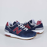 Кроссовки New Balance 1400 Navy Burgundy, фото 1