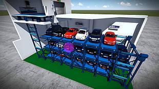 Автоматические парковочные системы (АПС)