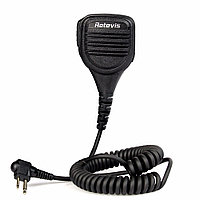 Retevis 2 Pin Speaker Mic для Motorola GP68 / GP88 / GP300 / GP2000 / CT150 Walkie Talkie Two Way Радио C9051A