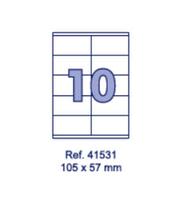 Наклейки А4, 105х57мм, 10/лист, 100 листов, фото 1
