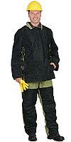 Костюм сварщика зимний: куртка, брюки брезентовый со спилком (2,7 кв.м.) тип Б, фото 1