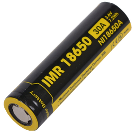 Аккумулятор NITECORE IMR18650 (2500mAh/35A) for vape