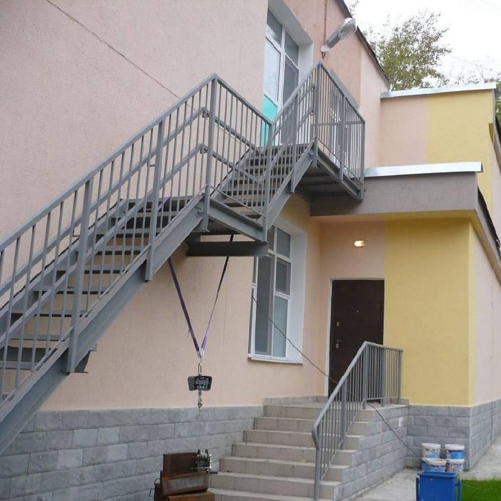 Лестница для зданий