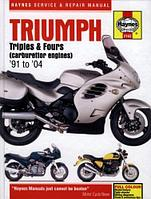 Triumph triples and fours service and repair manual