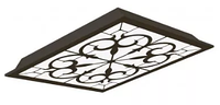 Св-к  OPALLED ORNAMENT 48W BLACK S/A  1200x300 5700K MGL1шт