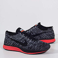 Кроссовки Nike Flyknit Racer Black Red