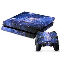 Наклейка для PS4 Play Station 4 Console + 2Controller Cover