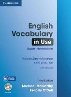 English Vocabulary in Use: Upper-intermediate 3 Ed with answ + CD-ROM