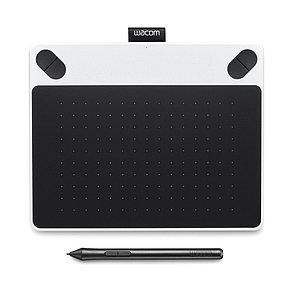 Графический планшет Wacom Intuos Draw Pen Small White (CTL-490DW-N) Белый/чёрный, фото 2