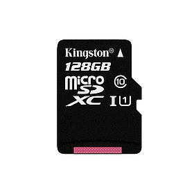 Карта памяти Kingston SDC10G2/128GBSP Class 10  128GB
