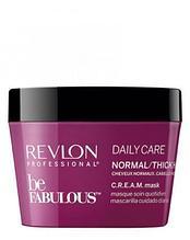Маска для нормальных и густых волос Revlon Be Fabulous Daily Care Normal Hair Thick Mask 200 мл.