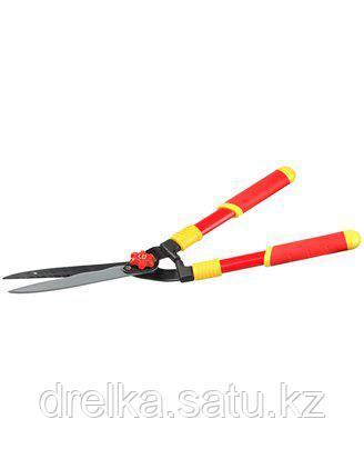 Кусторез ручной GRINDA 8-423551_z01, стальные ручки, профильные лезвия с тефлоновым покрытием, 571 мм , фото 2
