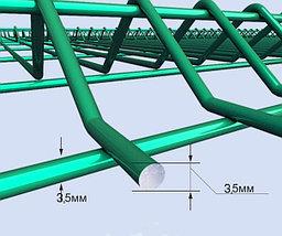 Панель для 3D ограждений металлическая, пруток 3,5 мм., фото 2