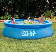 Круглый надувной бассейн 305х76см, Intex 28120