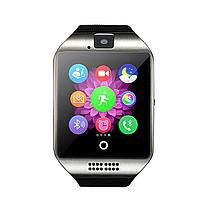 Умные смарт часы Smart watch Q18 (золотистый), фото 3