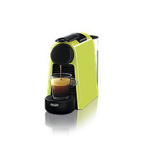 "Кофемашина капсульная ""Delonghi NESPRESSO Essenza Mini Lime Green"" & Aeroccino 3 Black"