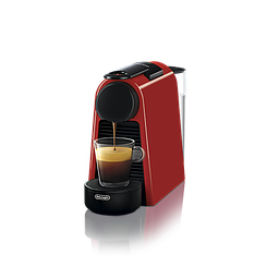 "Кофемашина капсульная ""Delonghi NESPRESSO Essenza Mini Ruby Red"" & Aeroccino 3 Black"