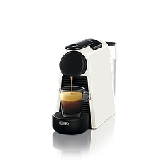 "Кофемашина капсульная ""Delonghi NESPRESSO Essenza Mini Pure White"" & Aeroccino 3 Black"