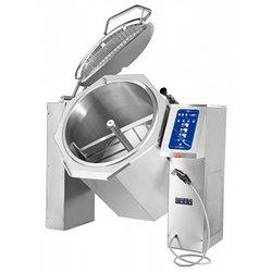 Котел пищеварочный опрокидывающийся КПЭМ-60 ОМ2 с миксером (60 л, 120°С, пар.рубашка, програм.управление)
