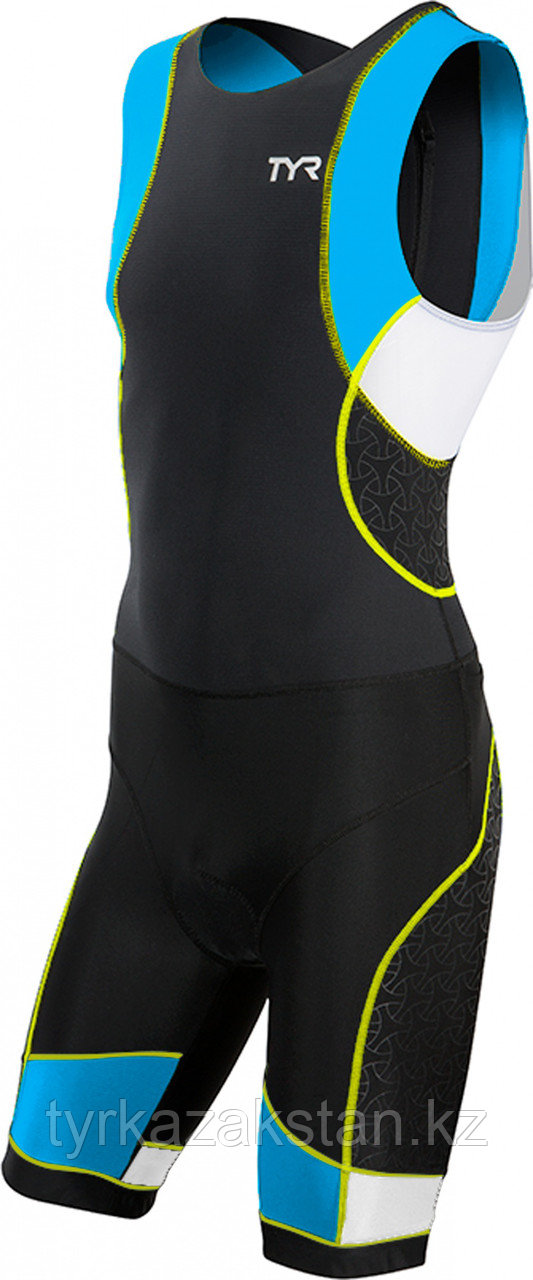 TYR мужской стартовый костюм Men's Competitor Trisuit with Back Zipper