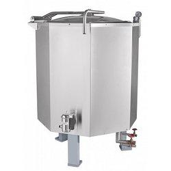 Котел пищеварочный паровой КПЭМ-160П работа от внешнего парогенератора
