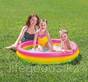 """Детский надувной бассейн """"Радуга"""" 114х25 см, Intex 57412, фото 2"""