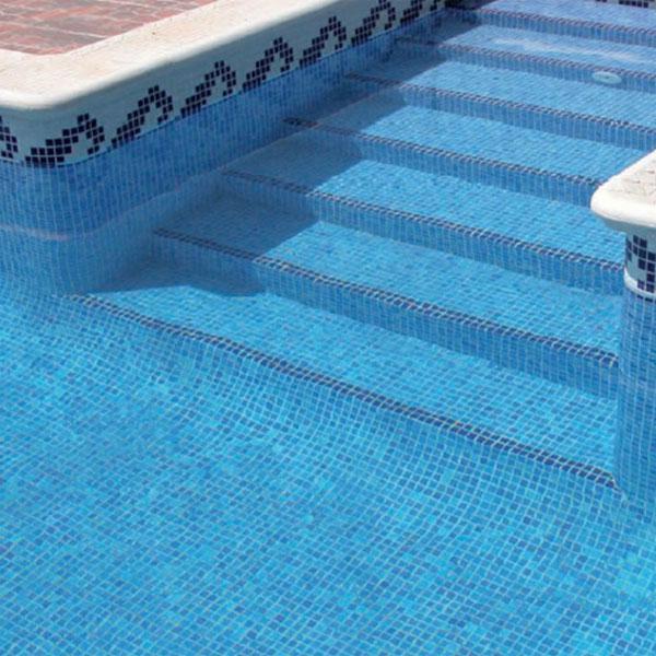Облицовка бассейна плиткой