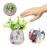 Multi-Pattern Bluetooth Audio Intelligent Music Speakers Flowerpot Toys