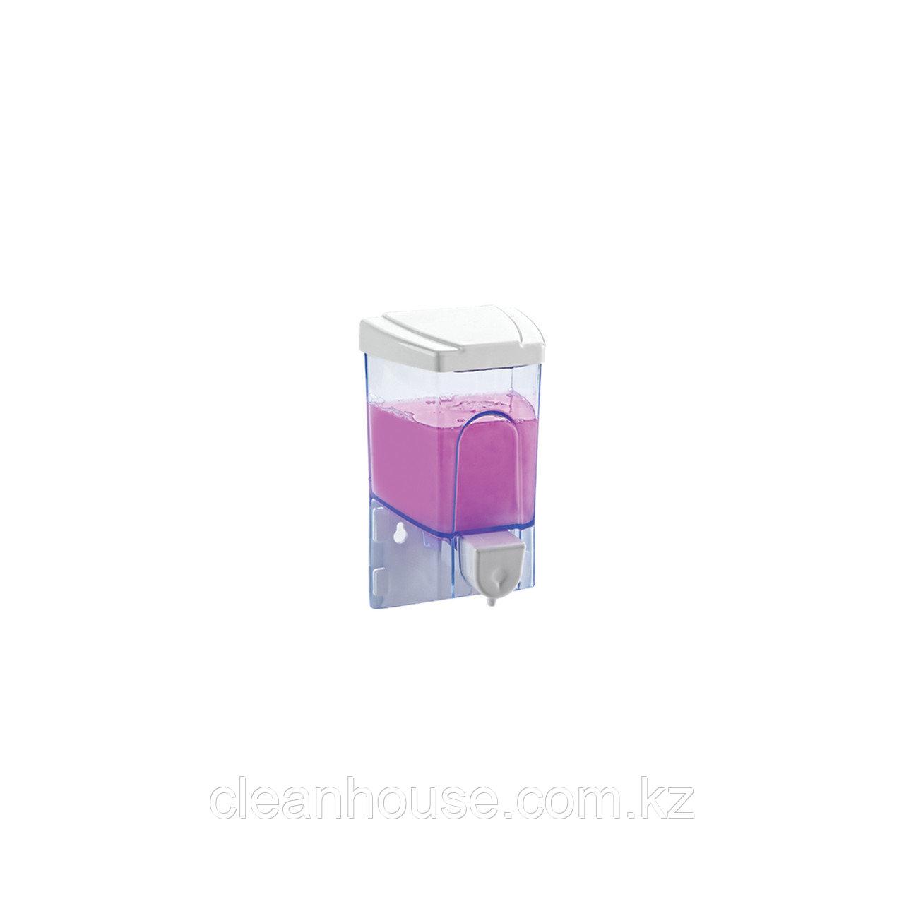 Диспенсер для жидкого мыла. 500 мл. (прозрачный)