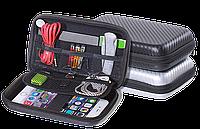 Сумка –несессер для цифровых и мобильных аксессуаров .