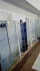 Душевая дверь (стекло мат.) в профиле В-177,5 / Ш-40