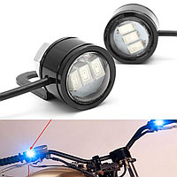 2pcs LED Eagle Eye Лампа Strobe Flash DRL Велосипед мотоцикл Авто ATV Light