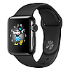 Apple watch series 2 42mm space black stainless steel case with space black