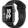 Apple watch series 2 42mm nike+ space gray aluminum case with anthracite/black nike sport band