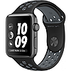 Apple watch series 2 38mm nike+ space gray aluminum case with black/cool gray nike sport band