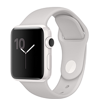 Apple watch series 2 38mm edition white ceramic case with cloud sport band