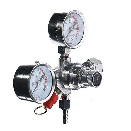 Двойной калибр Co2 Regulator Heavy Duty Pro Series Проект пива Home Brew Kegerator, фото 2