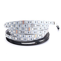 5M 60W SMD5050 RGB Водонепроницаемы Non-waterproof 300LEDs Strip Light DC24V , фото 3
